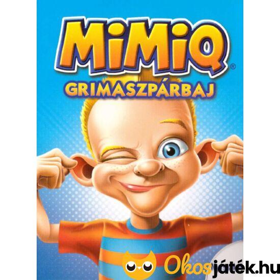 MIMIQ grimaszpárbaj kártyajáték (RE)