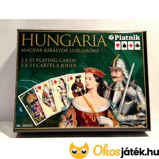 """Römi kártya - 2*55 lap (Magyar Királyok luxus römi) (PI) """"Utolsó darabok"""""""