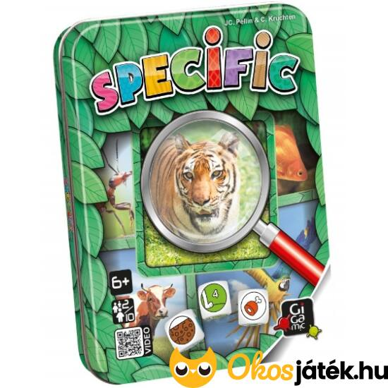 Specific állatos kvíz játék gyerekeknek - GE