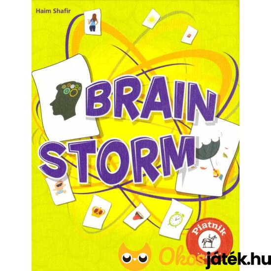 Brain Storm - Kreatív agy - Kreatív vagy? kártyajáték (PI)