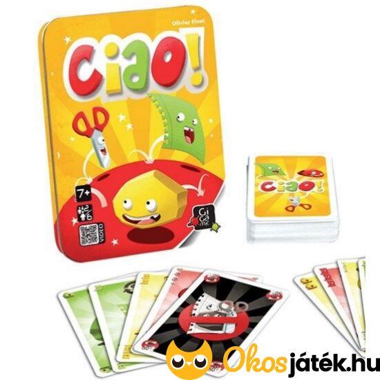 Ciao - Kő-papír-olló kártyajáték - Gigamic - GE