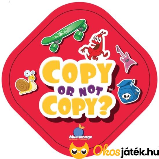 Copy or not copy? kártyajáték (GE)
