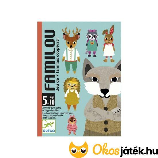 Familou - Kooperatív, családgyűjtő kártyajáték - Djeco 5103 (BO)