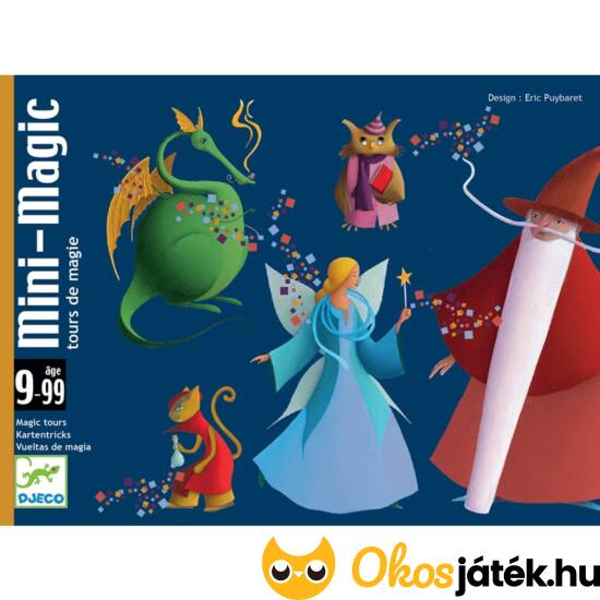 Kártyatrükkök gyerekeknek Djeco Mini-Magic 5178