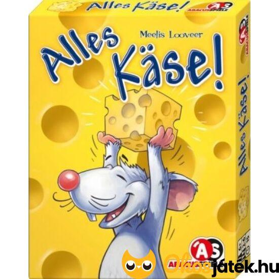 Sajtvadászat kártyajáték - Alles käse!  (GE)