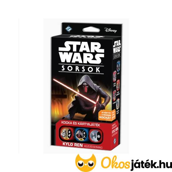 "Star Wars Sorsok kezdőcsomag - Kylo Ren (GE) ""Utolsó darabok"""