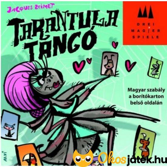 """Tarantula tangó, vicces kártyajáték - társasjáték (GE) """"Utolsó darabok"""""""
