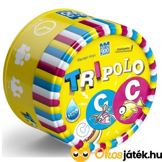 Tripolo kártyajáték (vízálló!) (KE)