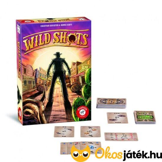 """Wild Shots kártyajáték (PI) """"utolsó darabok"""""""