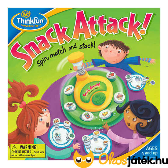 "Kajacsata - Snack attack (ThinkFun) (GE) ""Utolsó darabok"""