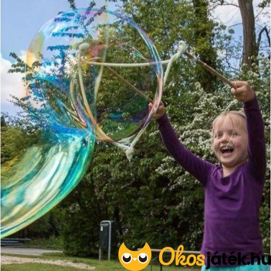 Óriás buborékfújó utántöltővel: Bubble Lab Giant Bubbles + Refill  3900 + 3931 (KON)