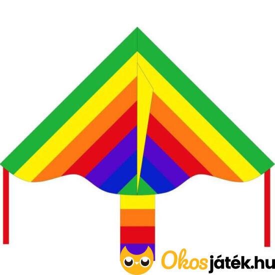 Gyermek szivárvány színű egyzsinóros sárkány 102130 (YO)