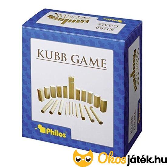 Viking sakk - Kubb fa szabadtéri játék Philos 3313 (PG)