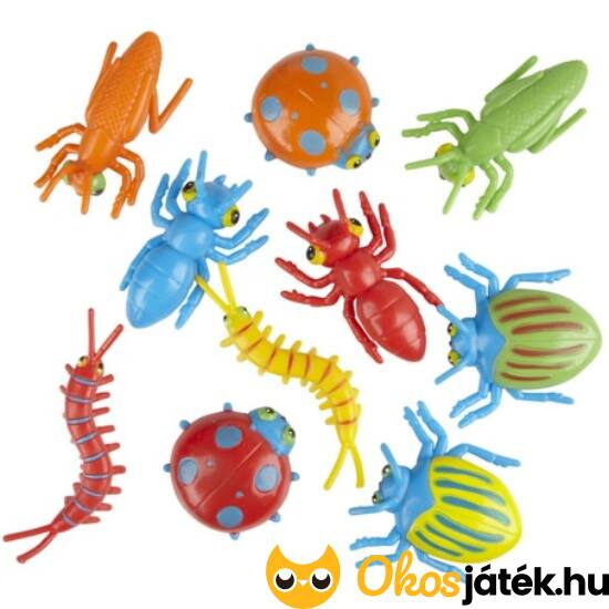 """Műanyag bogarak - játék bogár készlet - Melissa 16060 (ME-83) """"utolsó darabok"""""""