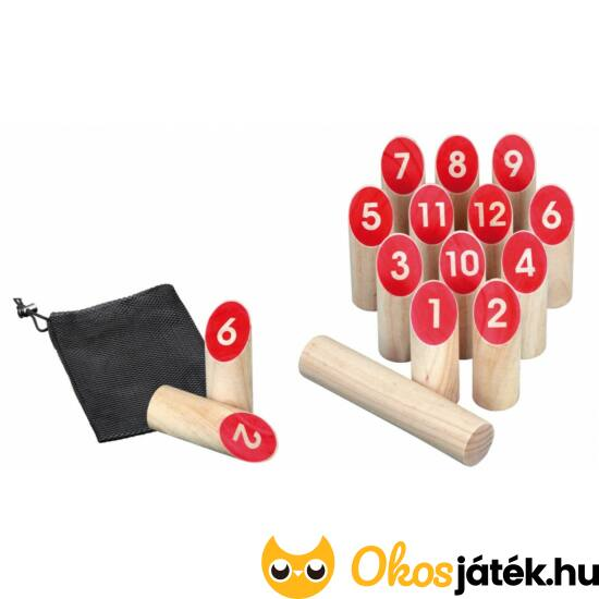 Mölkky fa szabadtéri játék - Philos 3315 (PG)