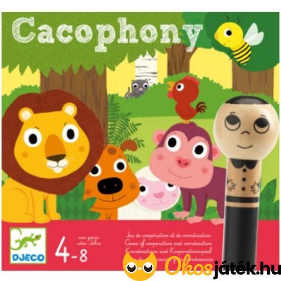 Cacophony szembekötős, csapat társasjáték - Djeco 8436 (BO)
