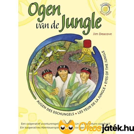 """Dzsungel misszió, a küldetés! - kooperatív kalandjáték (KO) """"utolsó darabok"""""""