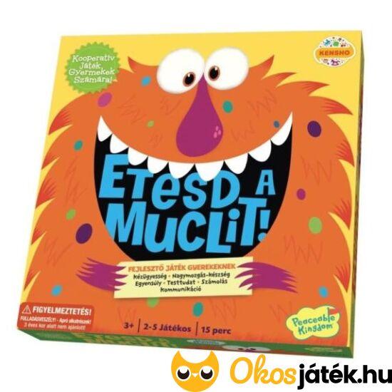 Etesd a muclit - ügyességi, kooperatív társasjáték kicsiknek (KE)