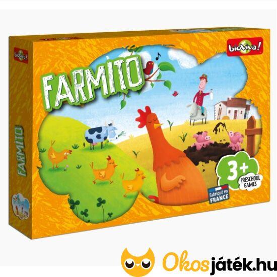 """Farmito - élet a farmon társasjáték ovisoknak - Bioviva (BT) """"Utolsó darabok"""""""