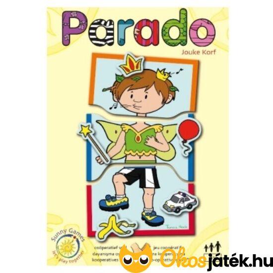 """Parado - farsangi társasjáték, vidám farsangos játék (SunnyGames)  """"Utolsó darabok"""""""