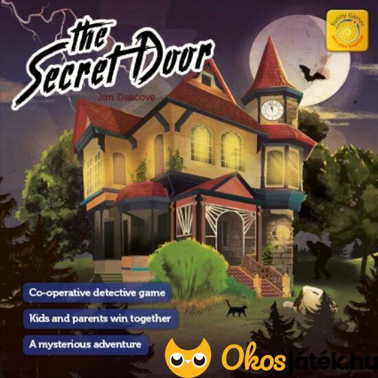 Titkos ajtó kooperatív társasjáték - Megújult, 3 dimenziós! - KO