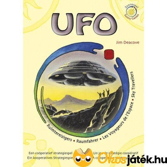 """UFO - a képzelet, kreativitás társasjátéka, kooperatív játék (KO) """"Utolsó darabok"""""""
