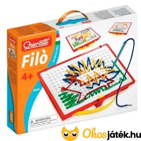 Quercetti Filó fűző játék - rajzolás zsinórral - KW 0570 NFT