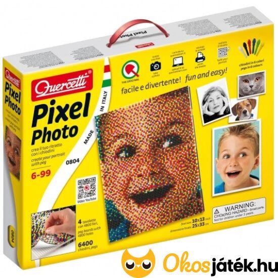 """Quercetti Pixel Art - fotó portré pötyi játék - mozaikkép 804 (KW) """"Utolsó darabok"""""""