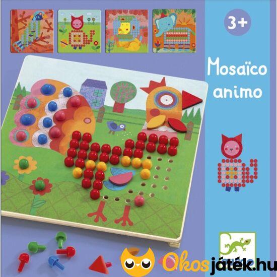 """Pötyi mozaik kirakó kreatív játék - Djeco DJ8137 (BO) """"utolsó darabok"""""""