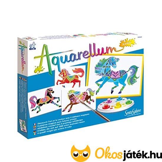 Aquarellum festőkészlet lovas kifestő