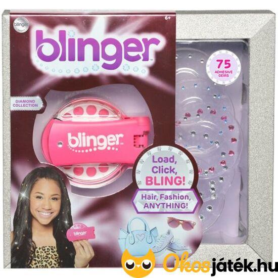blinger gyémánt kollekció rózsaszín