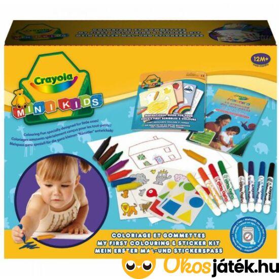 Crayola színező és matricázó készlet - 10570 (MH)