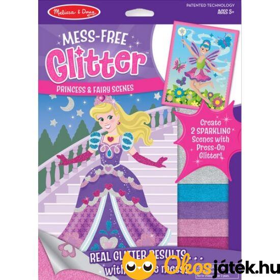 """Csillámos, glitteres öltöztetős kreatív játék lányoknak - Melissa Doug 19509 (ME-K2) """"Utolsó darabok"""""""
