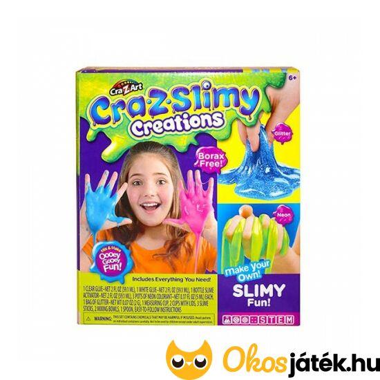 """Slimy ragacs - Csillámos és neon """"trutyi"""" készítő - Cra-Z-art 18821 (MH-R)"""