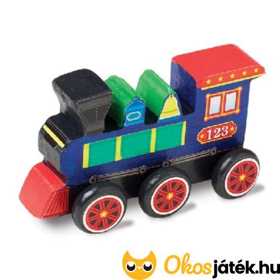 """Díszíthető vonat - kreatív játék fiúknak Melissa 18846 (ME-K1) """"Utolsó darabok"""""""