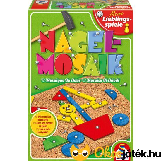 Kalapálós, szögelős mozaik kirakó játék - Schmidt Nagelmosaik (GA)
