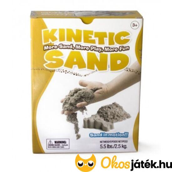 Kinetic Sand - örökmozgó homok  - NAGY KISZERELÉS 2,5KG (CU-F)