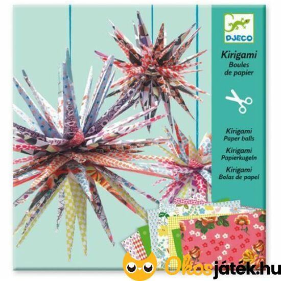 Kirigami 3d csillag dísz készítő - Djeco 8765 (BO)