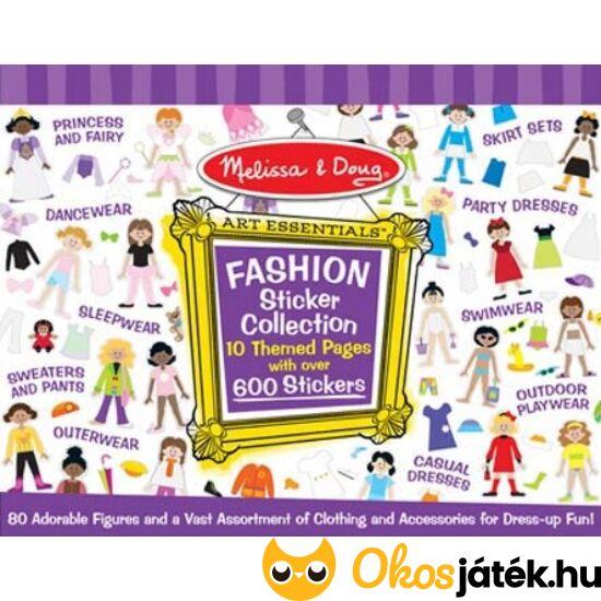 """Matricás öltöztetős kreatív játék készlet lányoknak - Melissa Doug 14190 (ME-KP) """"Utolsó darabok"""""""