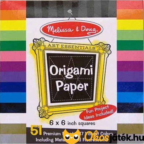Origami papír készlet - Melissa Doug 14129 (ME-K1)