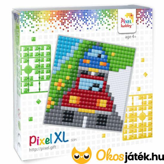 """Pixel XL - autós 41020 - mozaik képkirakó kreatív hobby játék (12*12cm alaplappal) (-F) """"Utolsó darabok"""""""