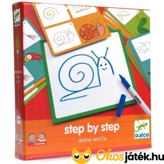 Rajzolás lépésről lépésre - állatok -  DJ 8319