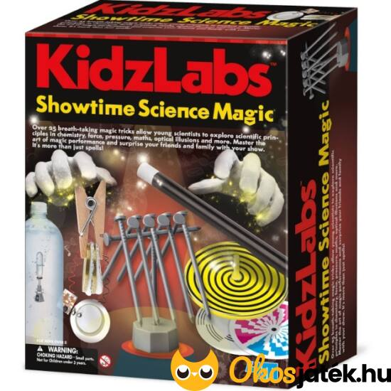 "4M ""Varázstudomány"" - Kidzlabs Showtime Science Magic 5530 (RE)"