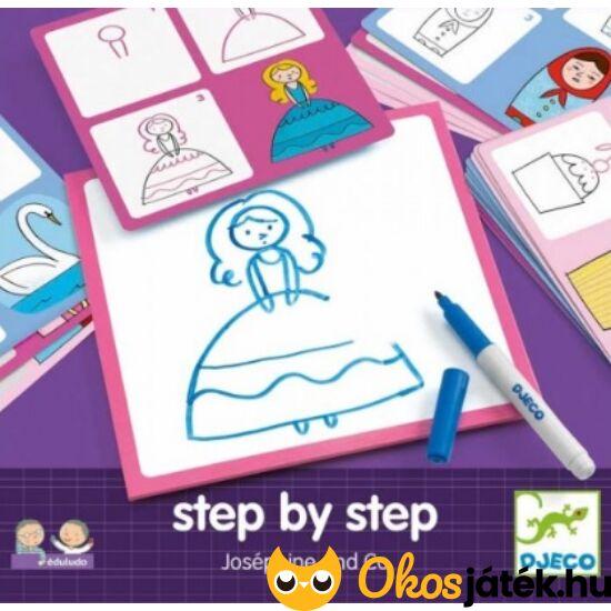 Tanuljunk rajzolni - Step by Step Josephine -  DJ 8320