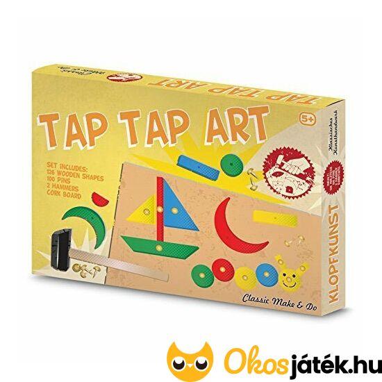 """Tap Tap Art kalapácsolós-szöges mozaik kirakó játék (TB) """"Utolsó darabok"""""""