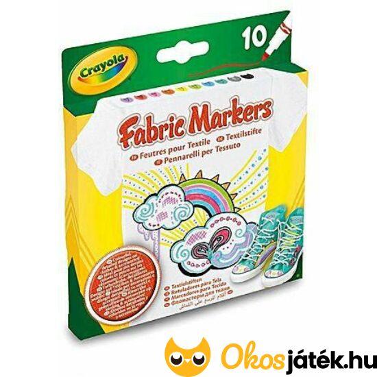 Textilfilc készlet - Crayola 58-8633 (MH)