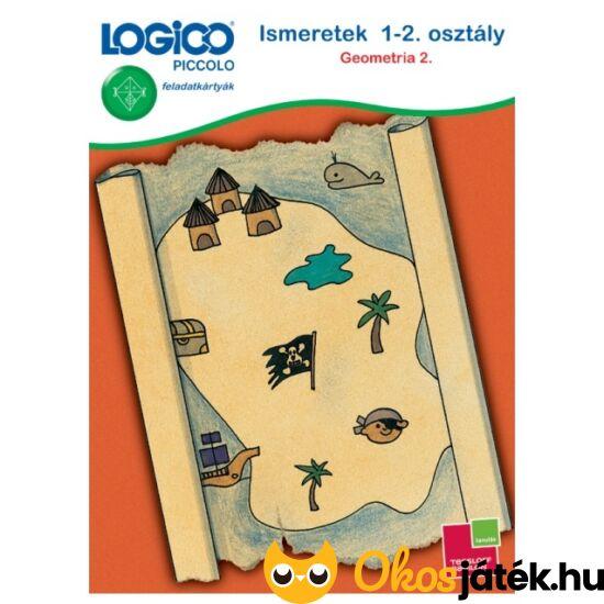 """LOGICO Piccolo 3447 - Ismeretek 1-2. osztály: Geometria 2. 6+ (TF) """"utolsó darabok"""""""