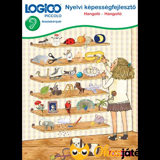 Logico Piccolo 3307 - Nyelvi képességfejlesztő: Hangoló-Hangolló