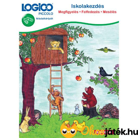 Logico Piccolo 3303 - Iskolakezdés: Megfigyelés - Felfedezés - Mesélés