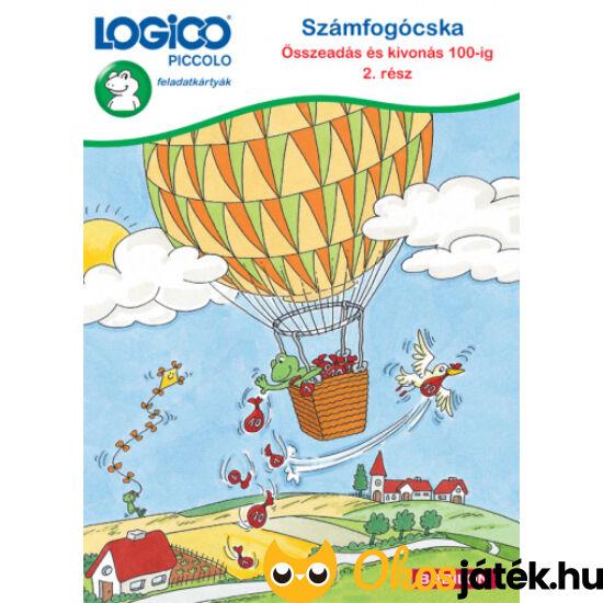 LOGICO Piccolo 3481 - Számfogócska: Összeadás és kivonás 100-ig 2. rész 7+ (TF)
